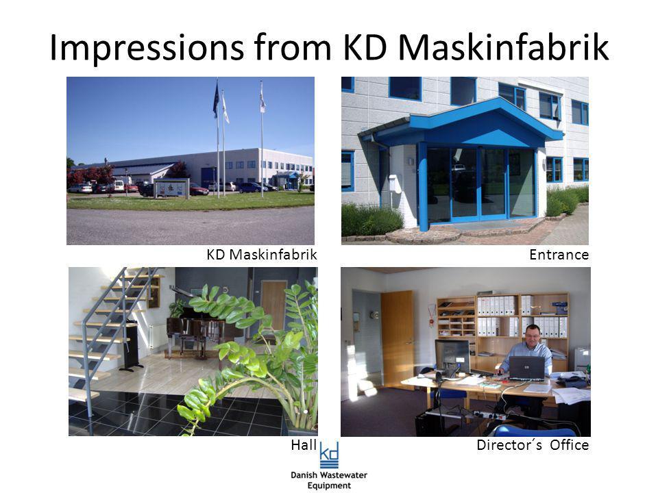 Impressions from KD Maskinfabrik KD MaskinfabrikEntrance HallDirector´s Office