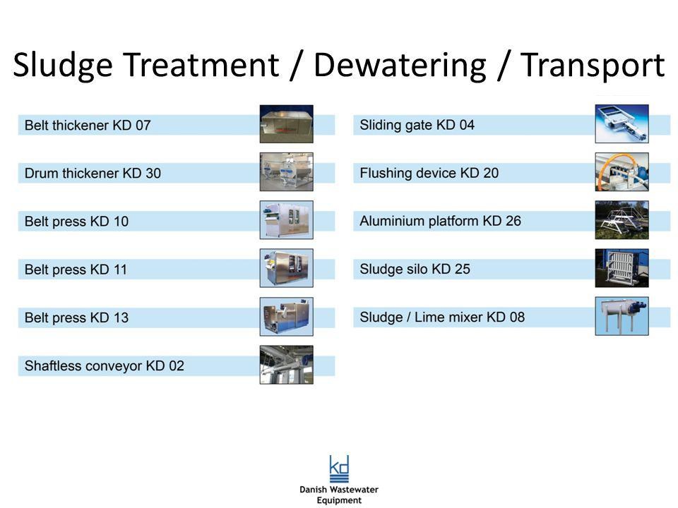 Sludge Treatment / Dewatering / Transport