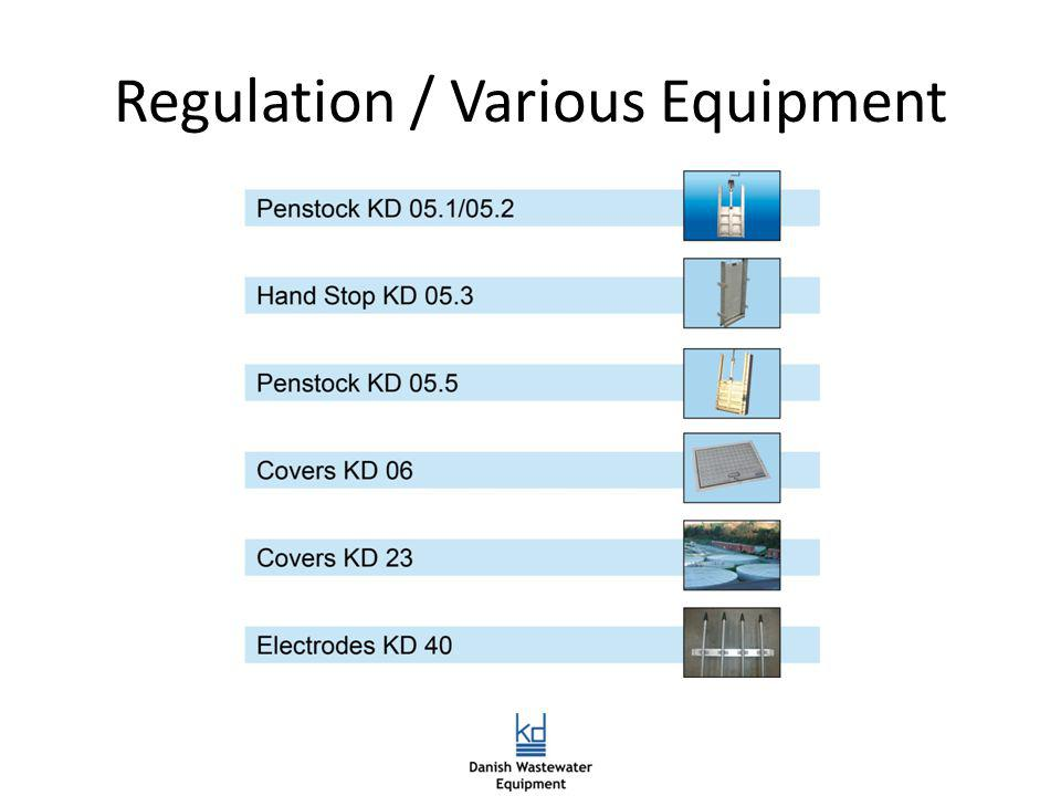 Regulation / Various Equipment