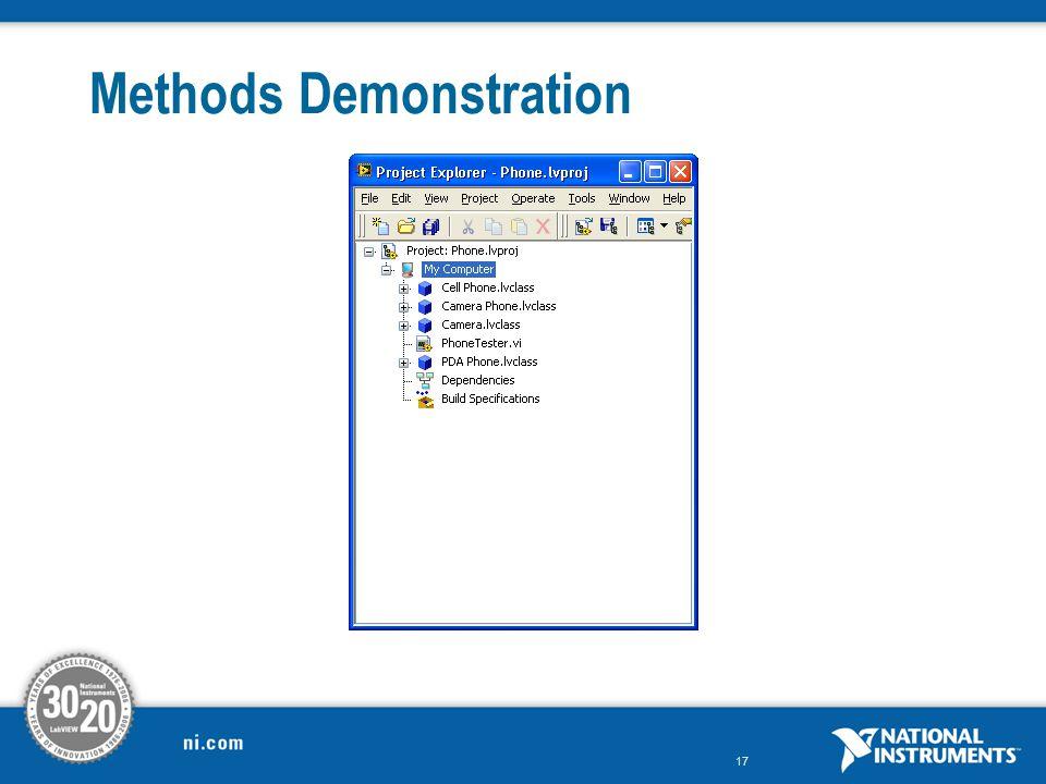 17 Methods Demonstration