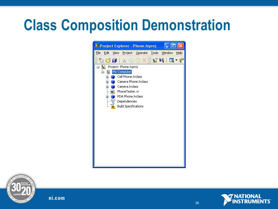 26 Class Composition Demonstration