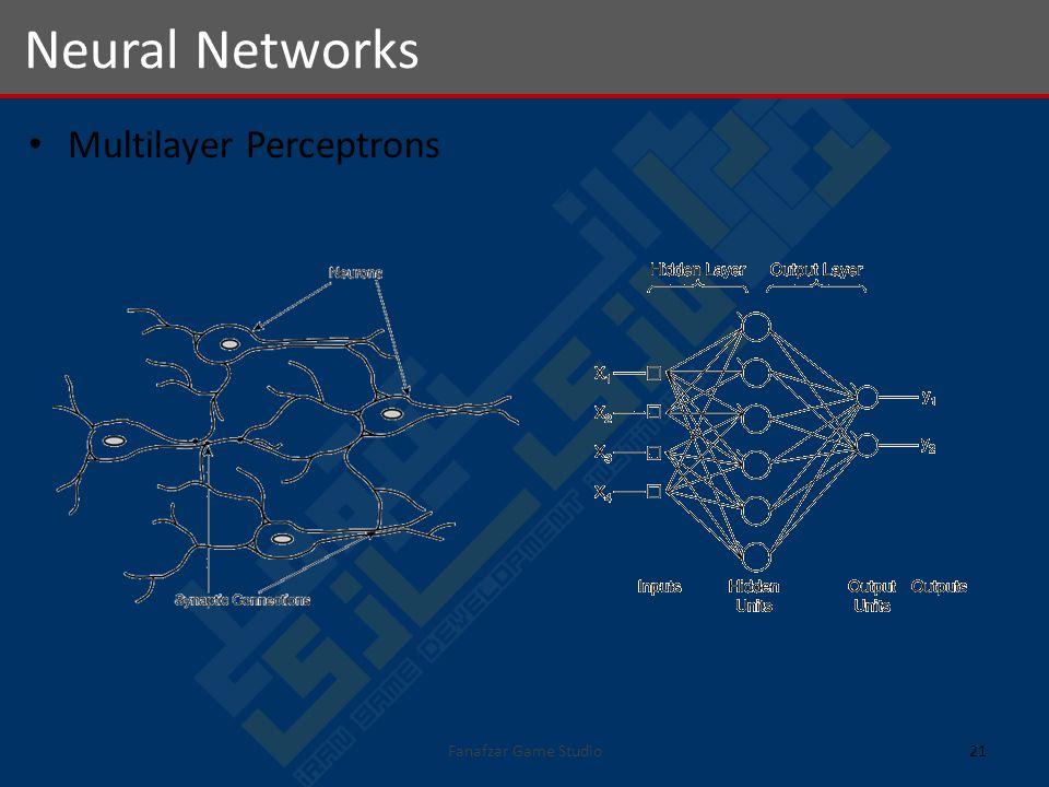Multilayer Perceptrons Neural Networks 21Fanafzar Game Studio