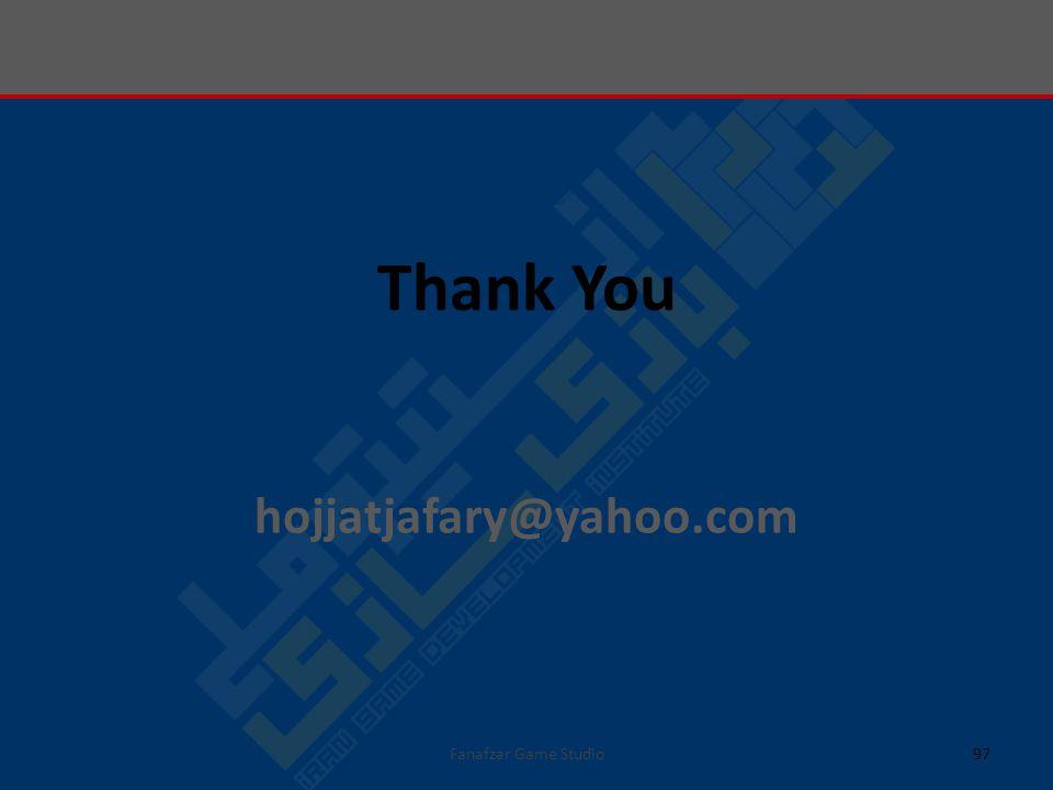 97 Thank You hojjatjafary@yahoo.com