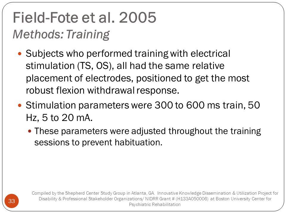 Field-Fote et al.
