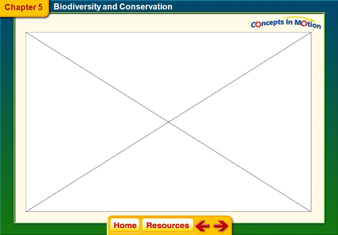 Biodiversity and Conservation 5.2 Threats to Biodiversity Chapter 5