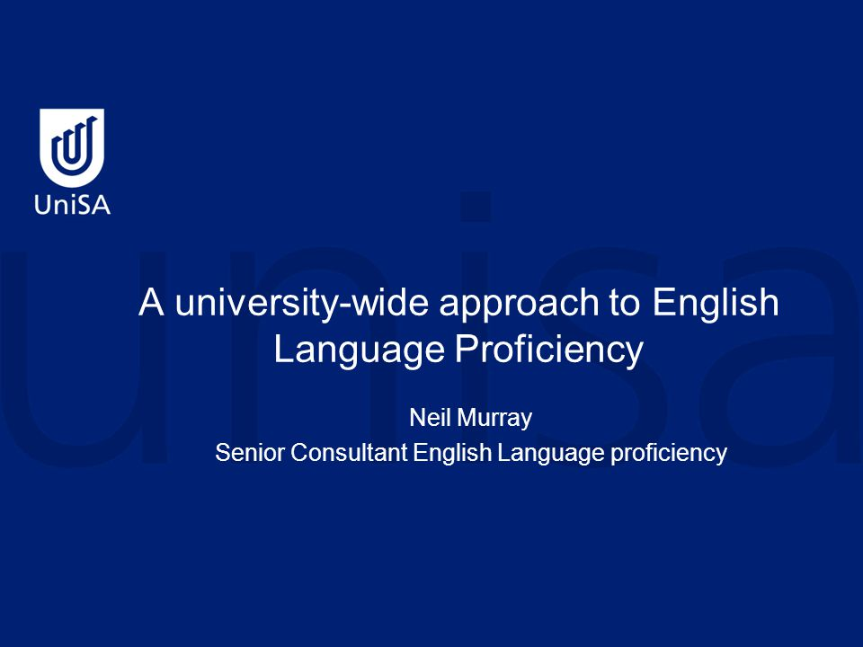 Drivers Good Practice Principles for English Language Competence for International Students in Australian Universities The expectation of the project Steering Committee is that universities will consider the Principles as they would consider other guidelines on good practice.