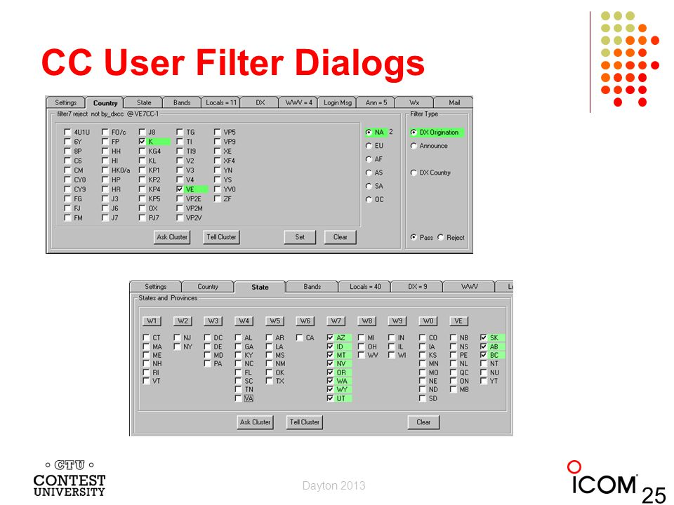 CC User Filter Dialogs Dayton 2013 25