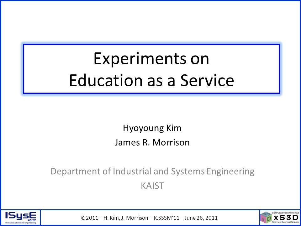 ©2011 – H. Kim, J.