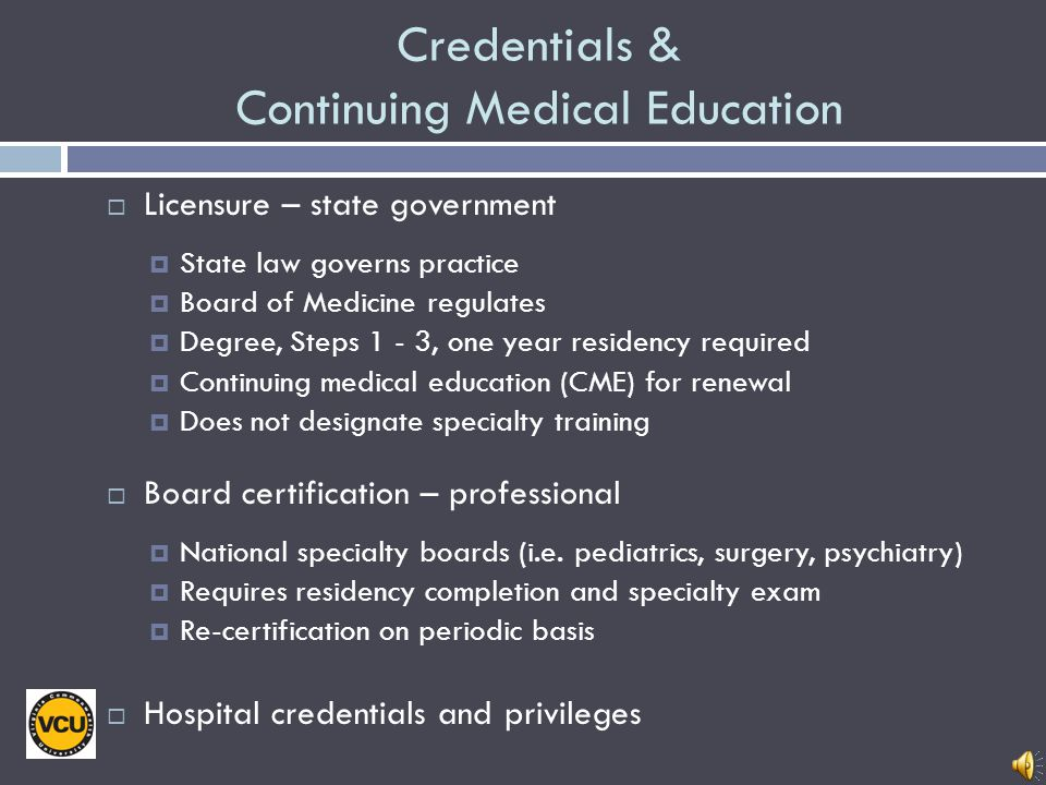 National Tests In, and after, Residency USMLE Step 3 Taken during or after Intern year All physicians must take prior to receiving medical license Boa