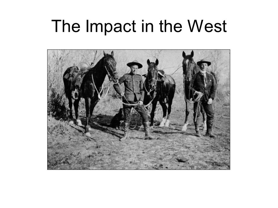 The Impact in the West