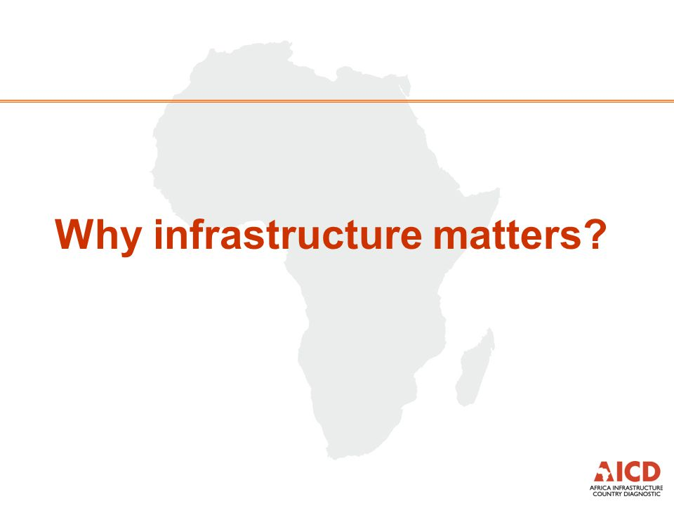 Why infrastructure matters