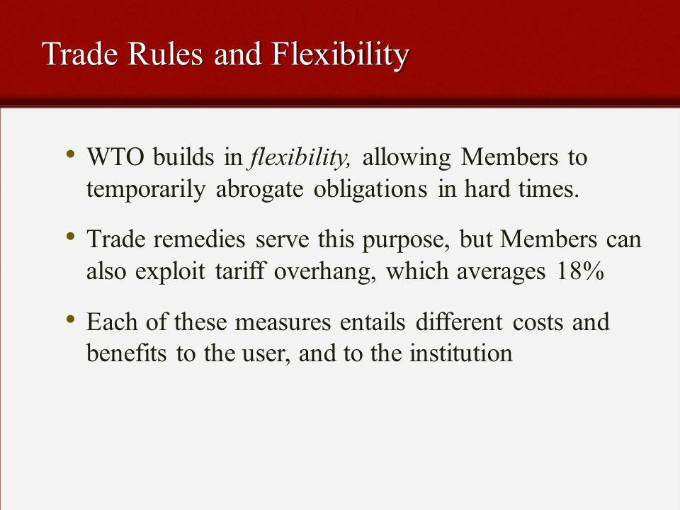 Why Trade Remedies.