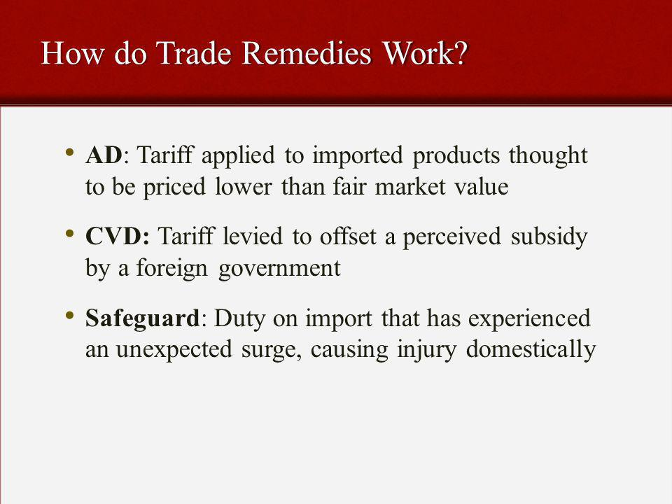 How do Trade Remedies Work.