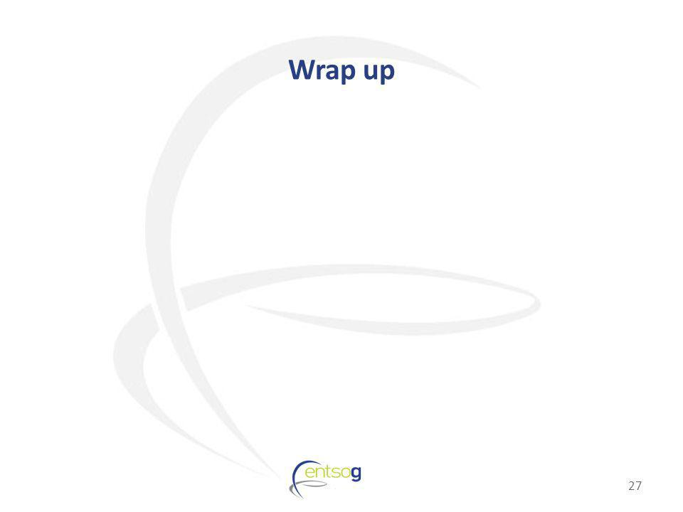 Wrap up 27