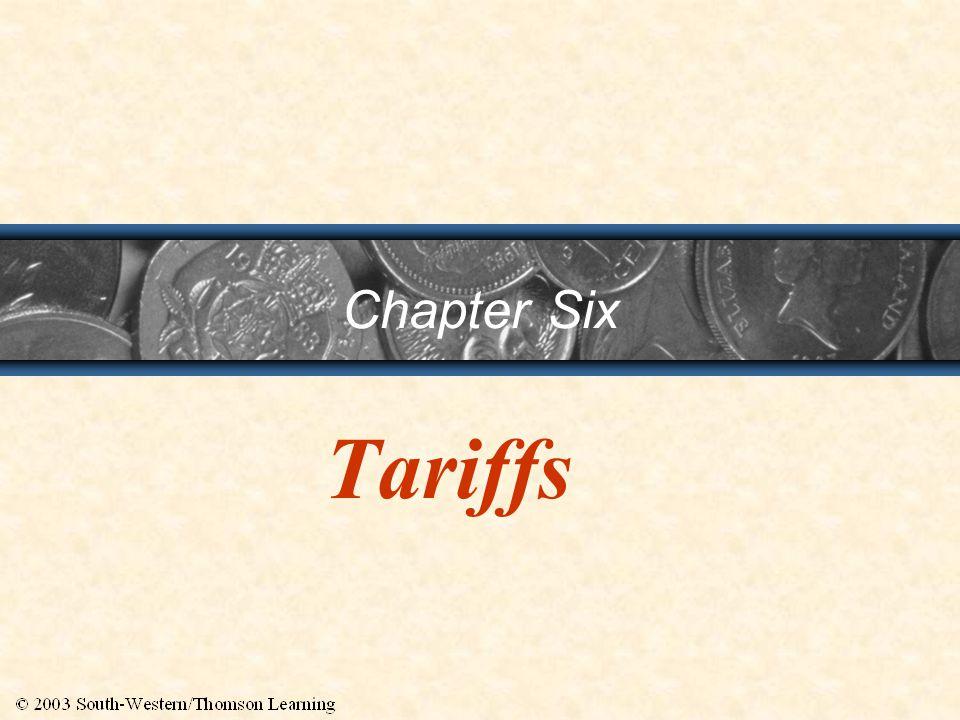 Chapter Six Tariffs