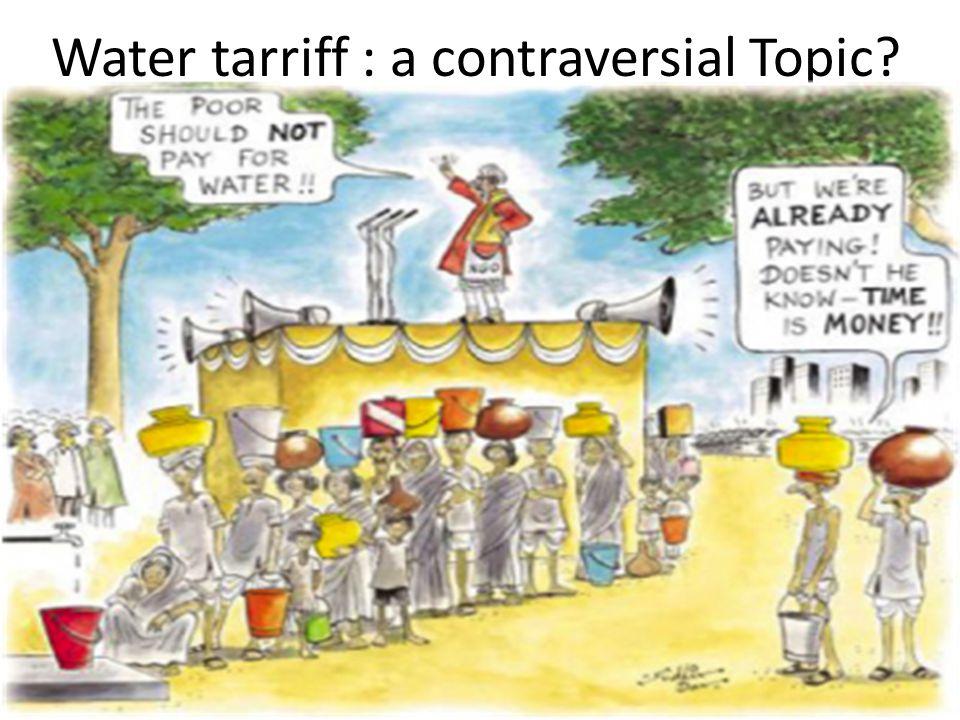 Why Water Tariff.