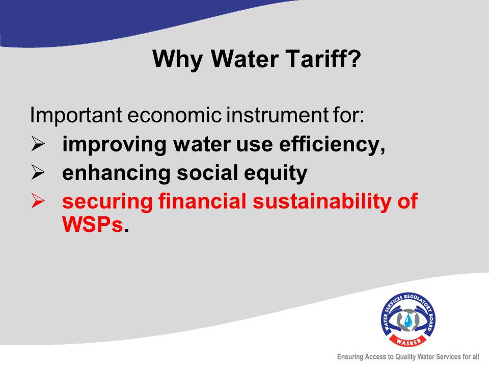 Is water an economic or financial good.