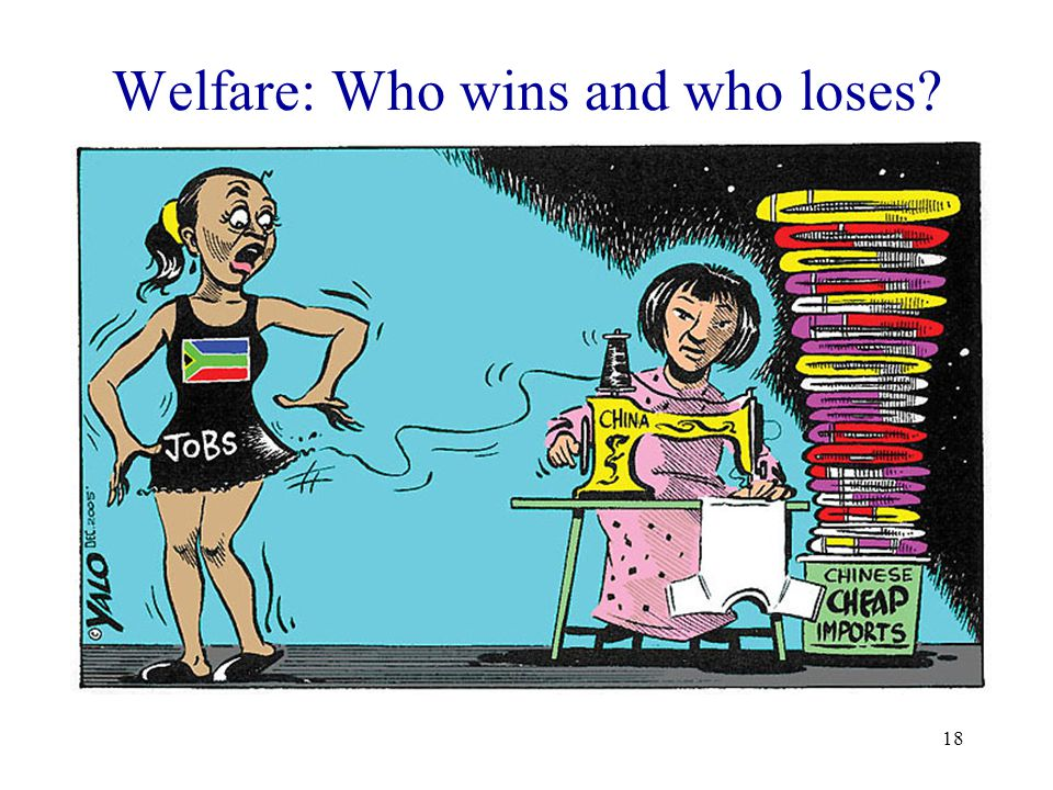 18 Welfare: Who wins and who loses?