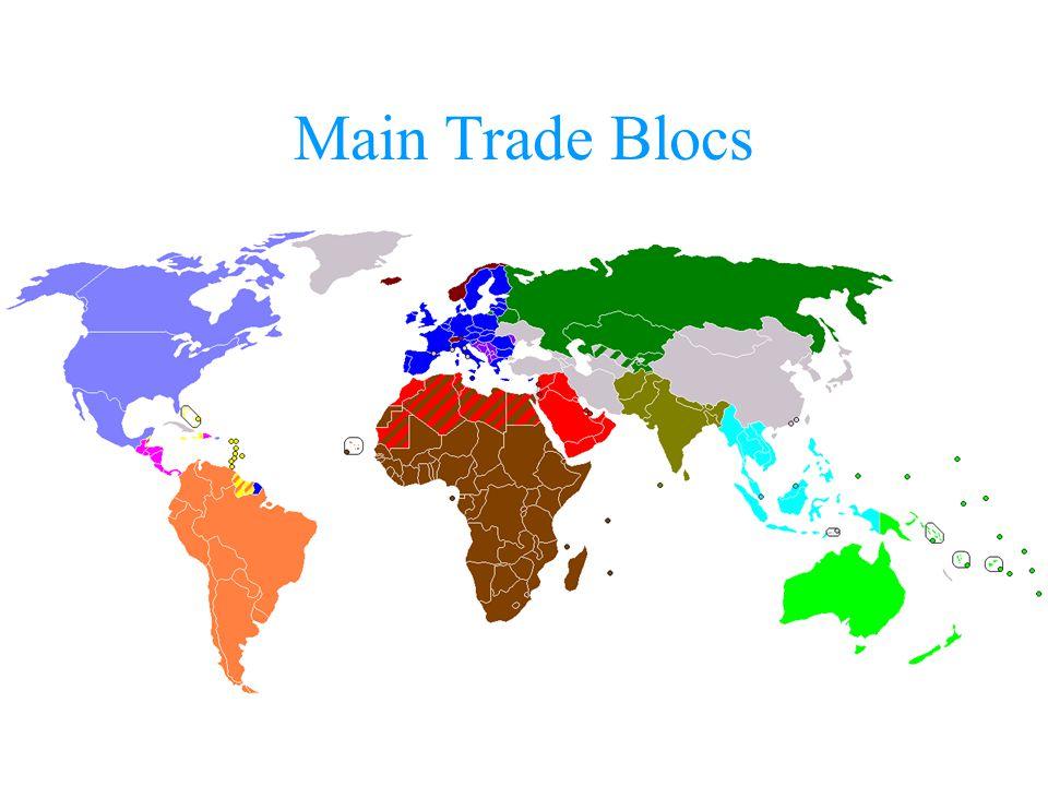 Main Trade Blocs