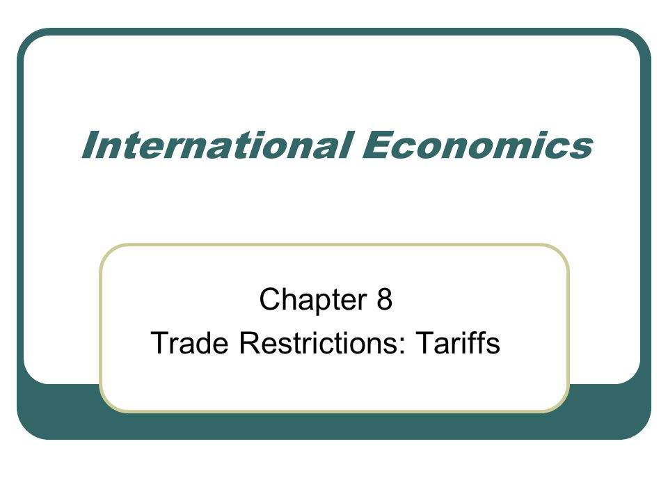 Conclusion The nations benefit comes at the expense of other nations, the latter are likely to retaliate, so that in the end all nations usually lose; An optimum tariff for a small country is zero (since a tariff will not affect its terms of trade and will only cause the volume of trade to decline (Figure 8.6 points E and H).
