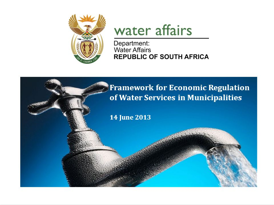 Index Water Pricing Chain Water Revenue Management Process Economic Regulation of Water Services Norms & Standards for tariff setting Water Tariff Models Debt Management Process 2