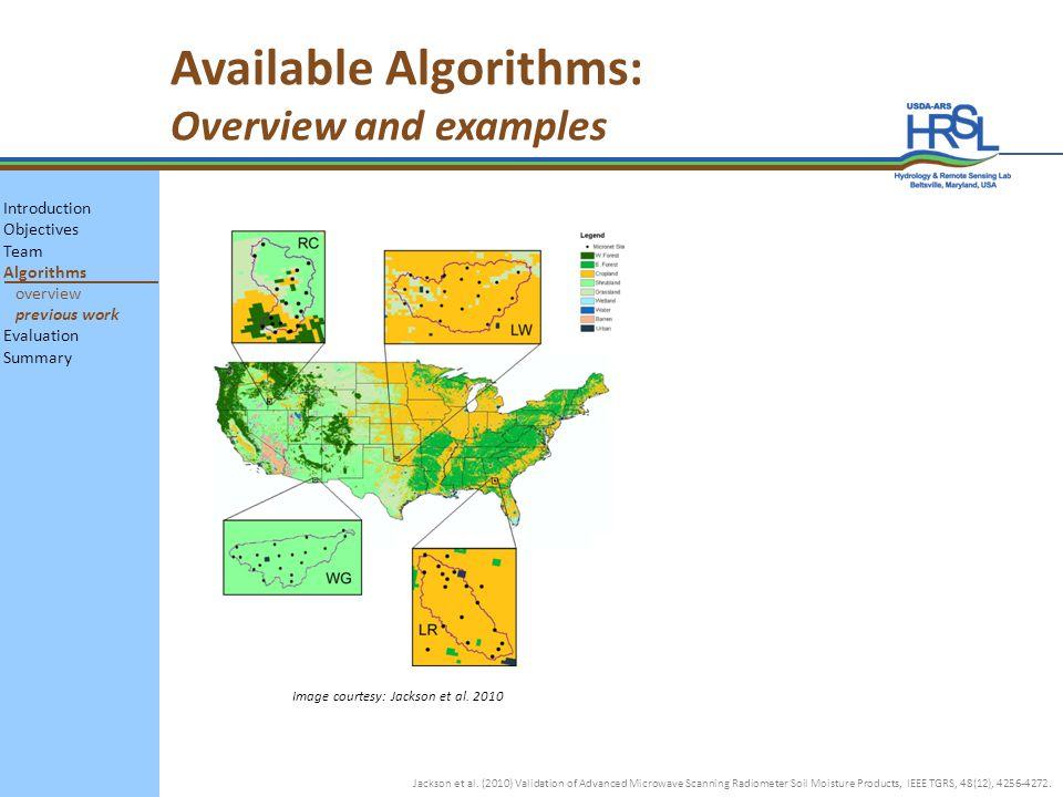 Image courtesy: Jackson et al.2010 Jackson et al.