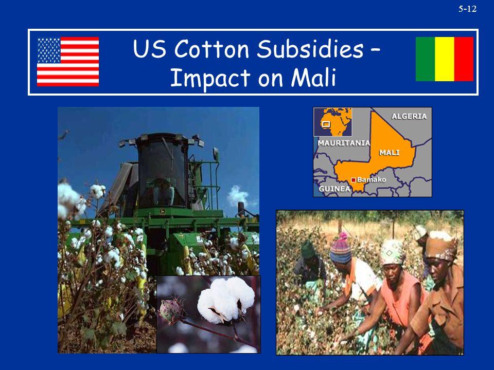 5-12 US Cotton Subsidies – Impact on Mali