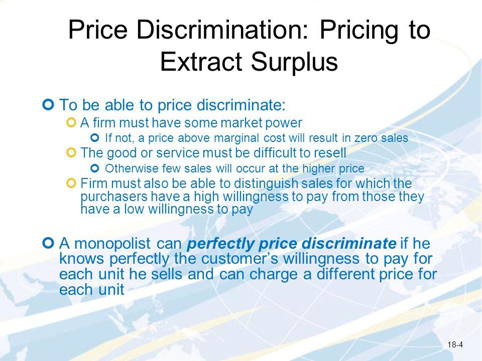 Figure 18.7: Welfare Effects of Price Discrimination 18-15