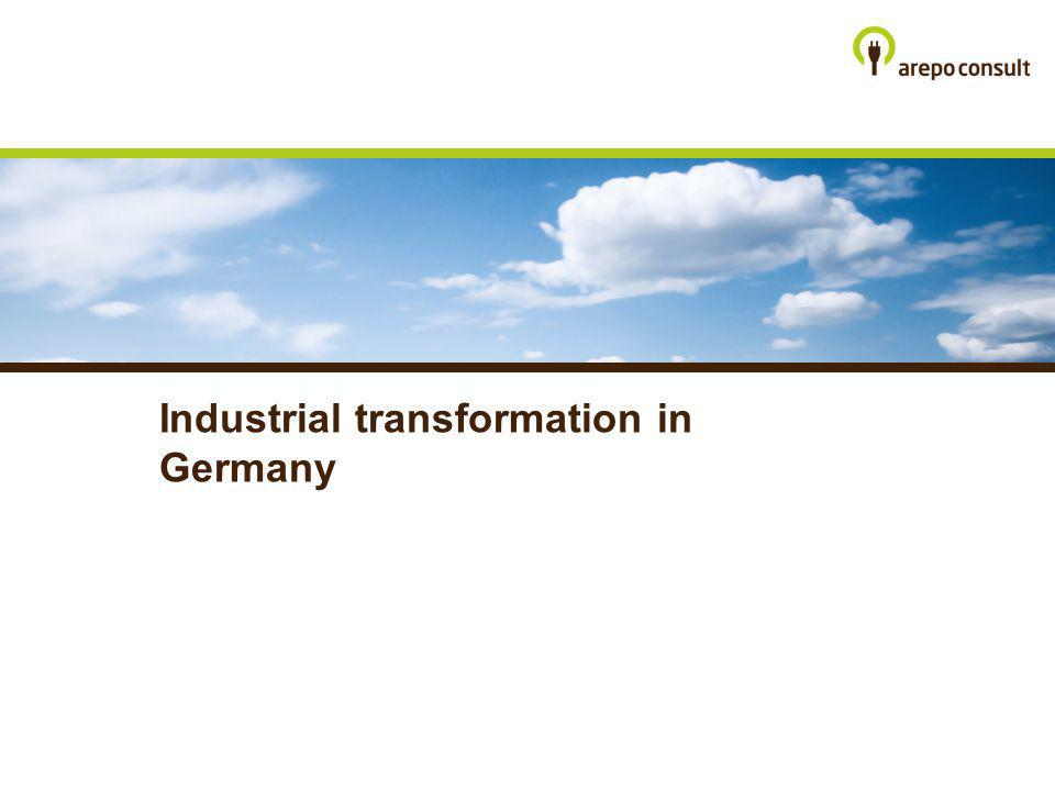 Industrial transformation in Germany