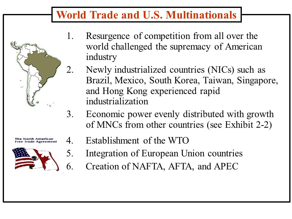Six Types of Non-Tariff Barriers (3) Standards: 1.Standard disparities 2.Intergovernmental acceptances of testing methods and standards 3.Packaging, labeling, and marking (3) Standards: 1.Standard disparities 2.Intergovernmental acceptances of testing methods and standards 3.Packaging, labeling, and marking (4) Government Participation in Trade: 1.Government procurement policies 2.Export subsidies 3.Countervailing duties 4.Domestic assistance programs (4) Government Participation in Trade: 1.Government procurement policies 2.Export subsidies 3.Countervailing duties 4.Domestic assistance programs