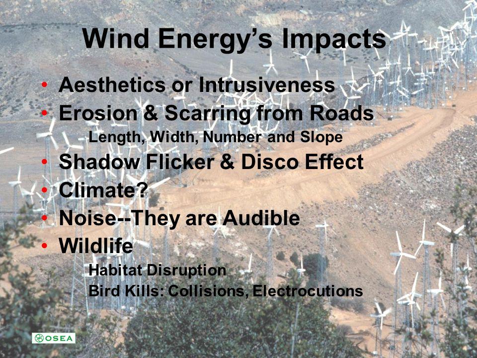 Colorado California Wind Energy Has Come of Age