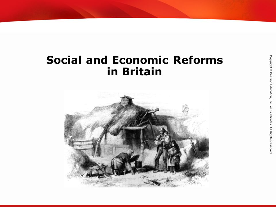 TEKS 8C: Calculate percent composition and empirical and molecular formulas. Social and Economic Reforms in Britain
