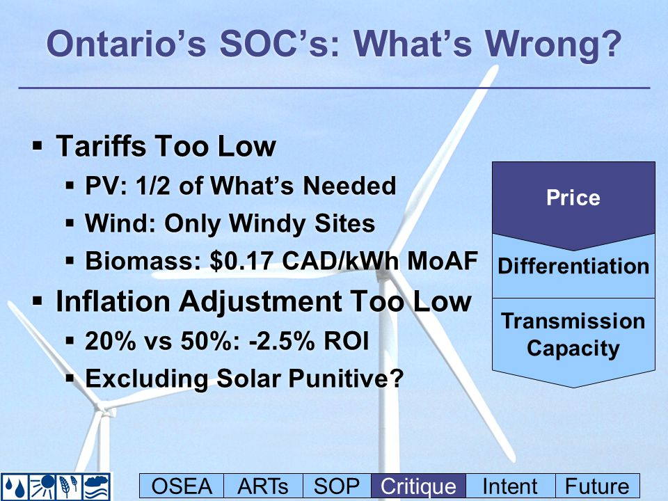 Ontarios SOCs: Whats Wrong.