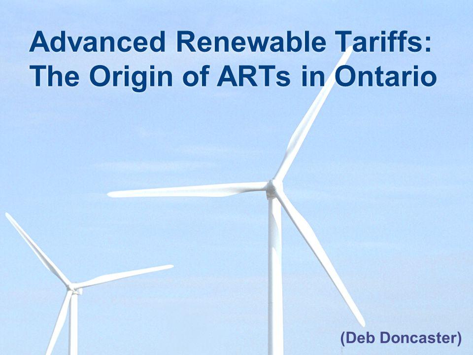 SOP: Details of Price Revision Ontario Revised On-Farm Biogas Tariffs FutureImmediate ActionDetailsGeneral