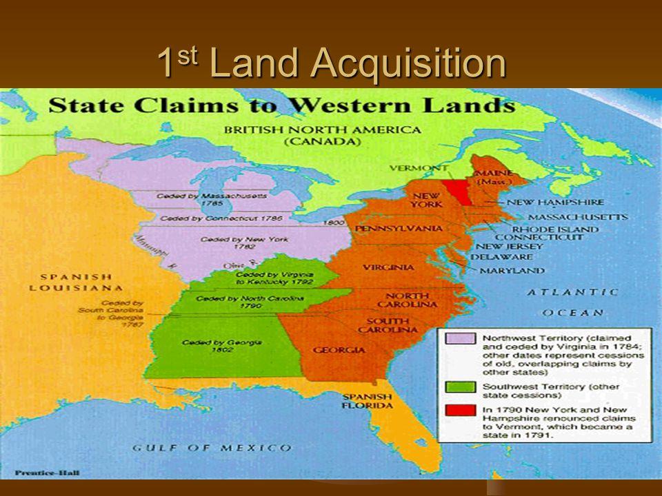 1 st Land Acquisition