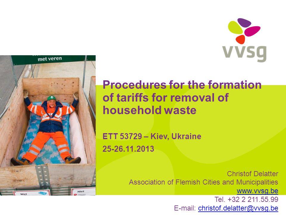 VVSG - Management cost of civic amenity site (2)