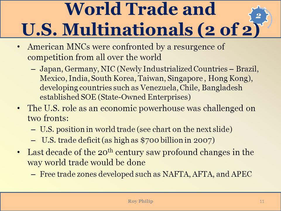 World Trade and U.S.