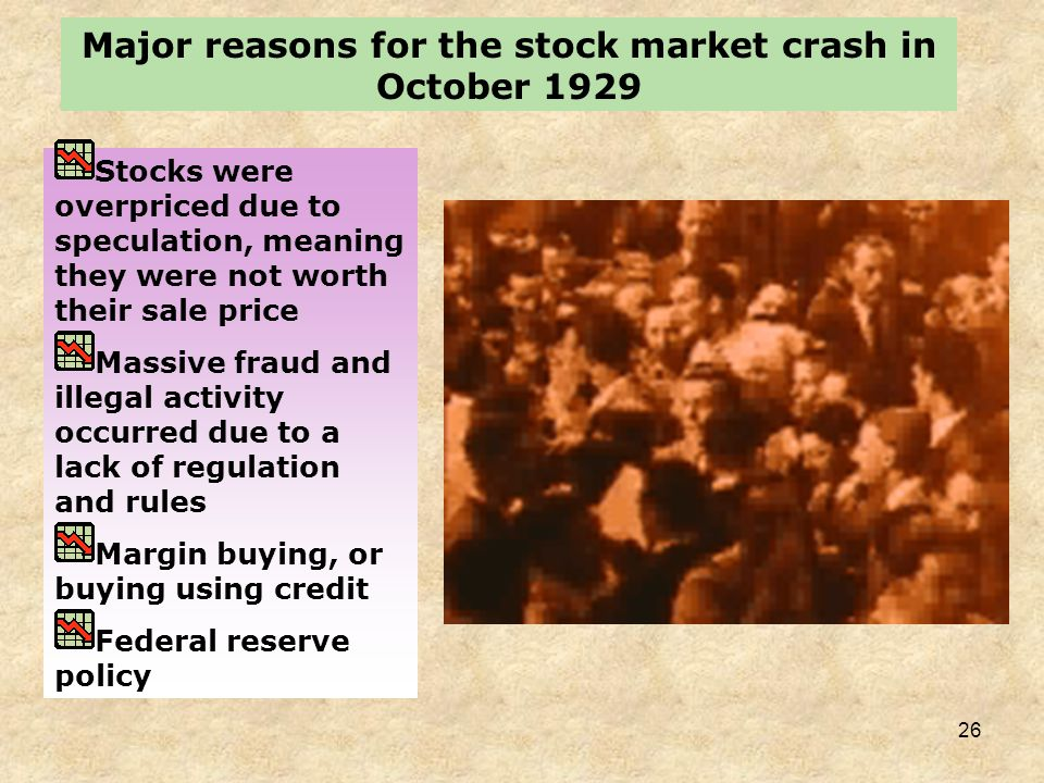 25 STOCK MARKET CRASH AND FINANCIAL PANIC WALL STREET ON THE DAY OF THE CRASH, OCTOBER 1929