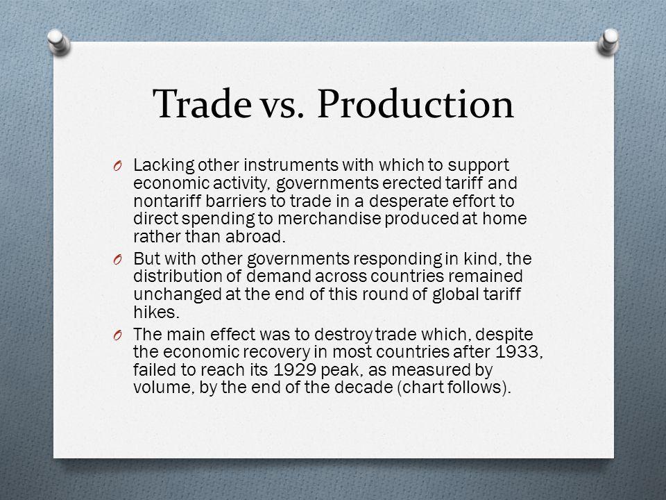 Trade vs.