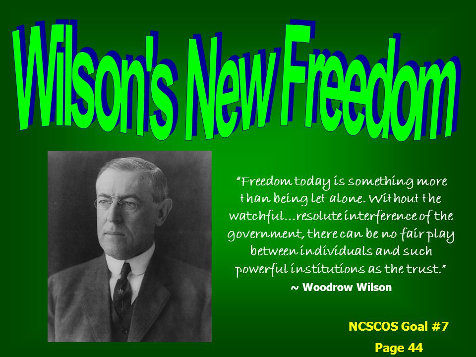 Woodrow Wilson spent his youth in the South during the Civil War and Reconstruction.