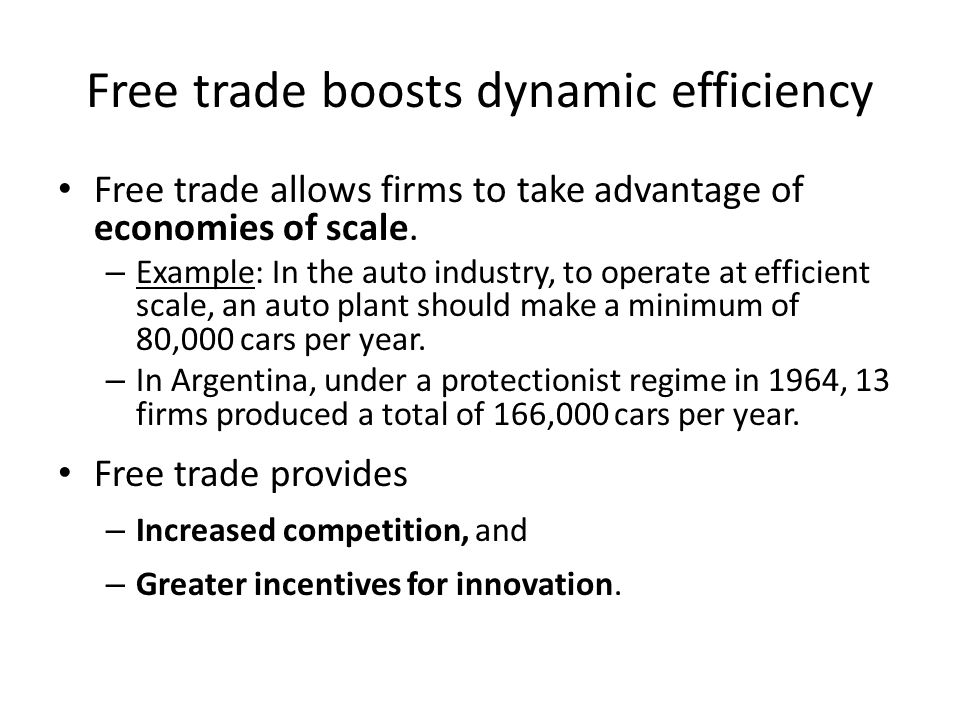 Preferential Trading Agreements (cont.) Are preferential trading agreements necessarily good for national welfare.