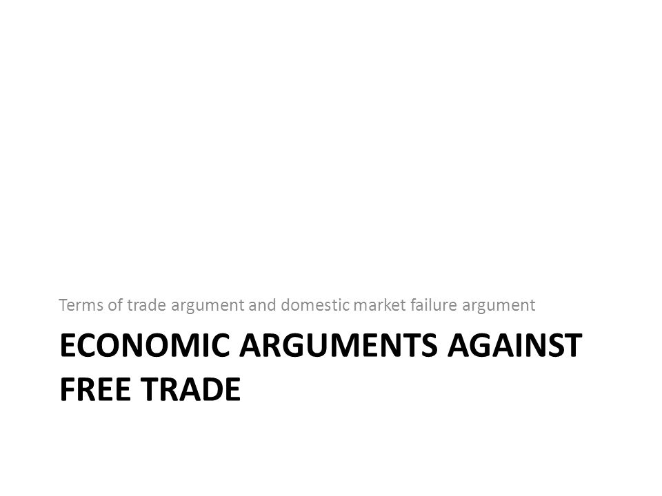 Terms of trade argument: optimum tariff For a large country, a tariff or quota lowers the price of imports in world markets and generates a terms of trade gain.