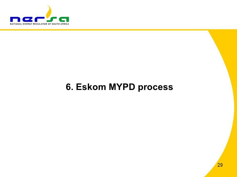 6. Eskom MYPD process 29