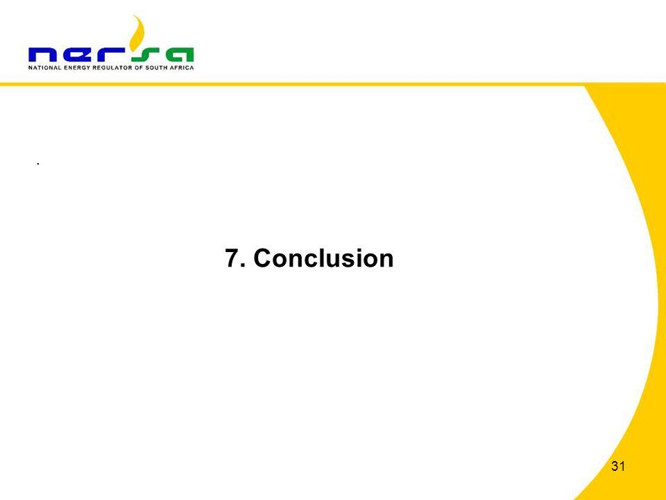 31. 7. Conclusion