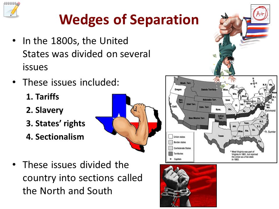 States Rights Northerners believed the national govt was supreme (not the state govt) They believed that the states could not legally separate from the Union (USA).