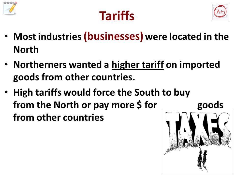 Tariffs The S.