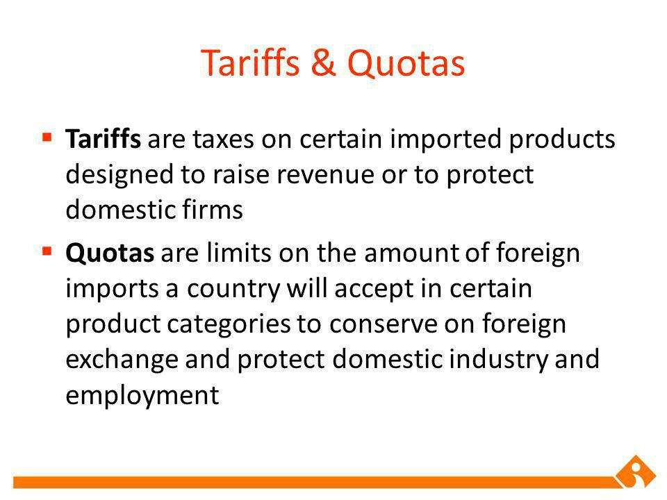 Exchange Controls & Nontariff Barriers Exchange controls are a limit on the amount of foreign exchange and the exchange rate against other currencies Nontariff trade barriers are biases against bids or restrictive product standards that go against a particular countrys product features