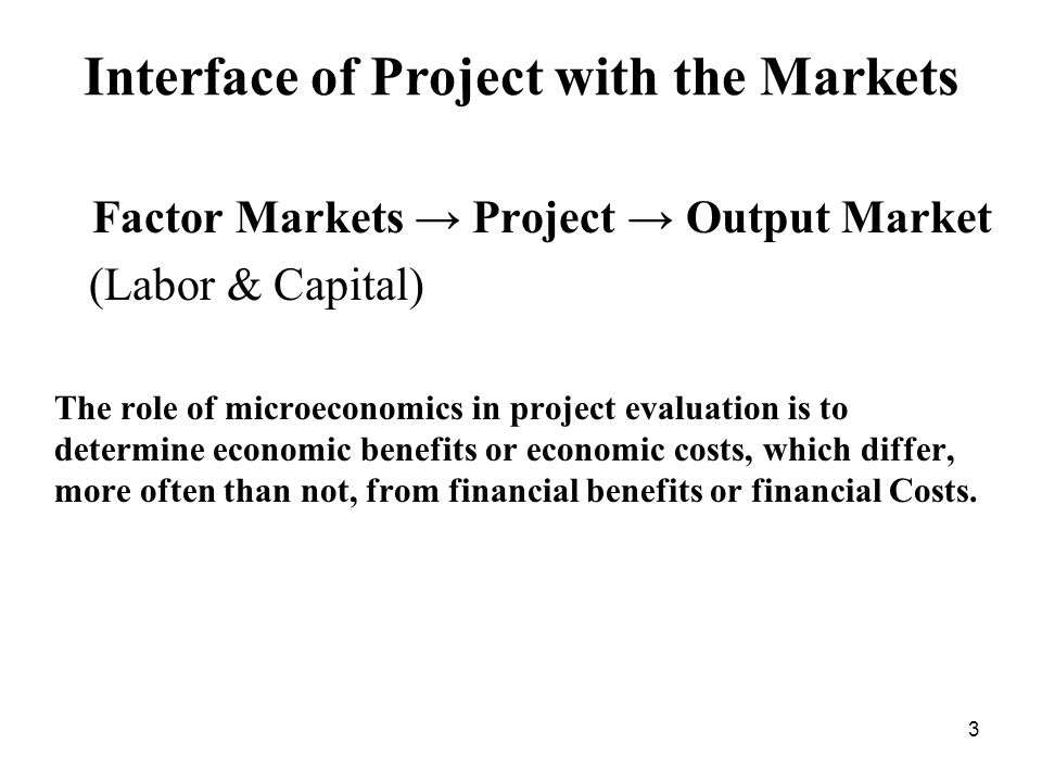 Economic Benefits of Project Output (No Distortions) Value of Resources Saved Value of Increased Consumption Price S 0 + Project S0S0 D0D0 P0mP0m P1mP1m A C GF E B D Q s1s1 d1d1 Q Q0Q0 QTQT Quantity Economic Value = W x s P s +W x d P d If no output market distortions, then: P s = P d = P m Financial benefit is P 1 m (Q 1 d -Q 1 s ) Economic benefit is Q 1 s GCQ 0 + Q 0 CFQ 1 d 14