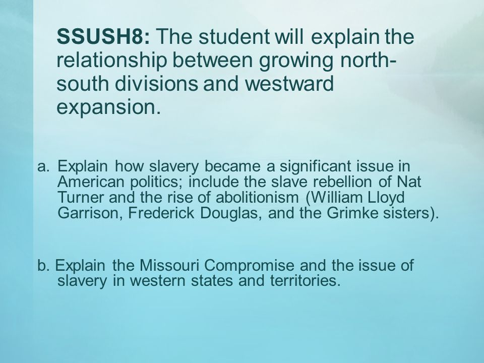 What was the role of slavery in the Southern economy.