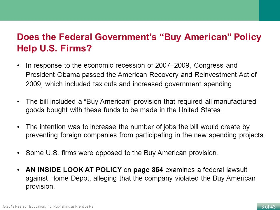 4 of 43 © 2013 Pearson Education, Inc.